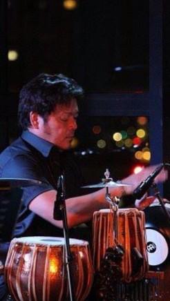 HIROSHIMA8.6前夜祭 PEACEコンサートでのSEiREN Perc
